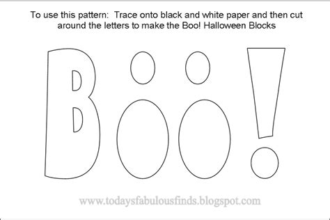 today s fabulous finds boo halloween blocks printable