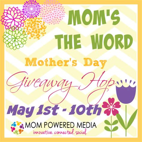 Giveaway Synonym - mom s the word giveaway hop 30 amazon gc or pick your prize pretty opinionated