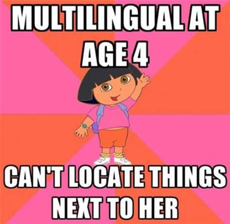 Dora The Explorer Meme - funny quotes about dora quotesgram