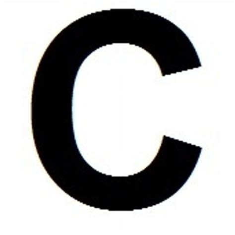 Big Letter C big letter c bigletterc