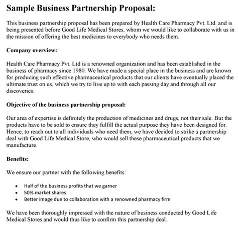 business proposals sle proposals