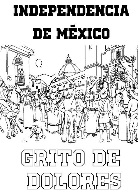imagenes para colorear independencia de mexico pinto dibujos independencia de mexico para colorear 16