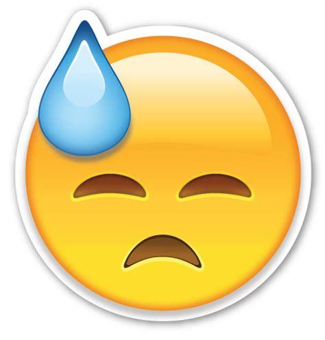 imagenes emojis png face with cold sweat emojis emoticonos y memes positivos