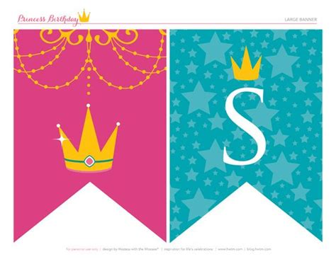 disney princess printable birthday banner 248 best images about party planning princess party ideas