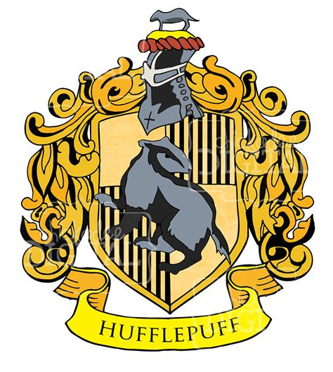 printable hogwarts house crests harry potter hufflepuff house crest clipart hufflepuff clip