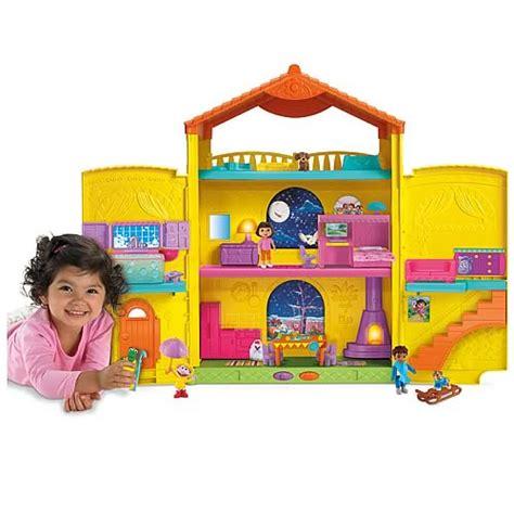 dora the explorer doll house dora the explorer window surprises dollhouse fisher price dora the explorer