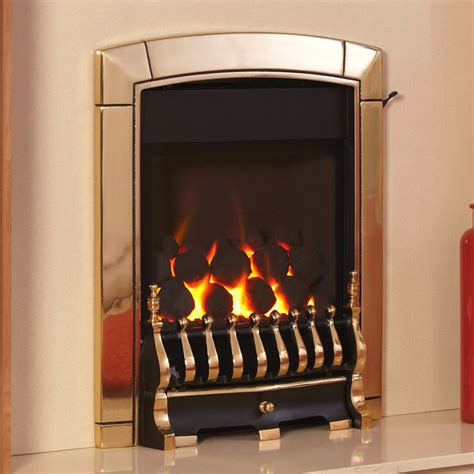 Glass Fronted Fireplaces by Flavel Caress Traditional Depth High Efficiency