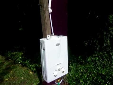 portable shower lp propane tankless water heaters