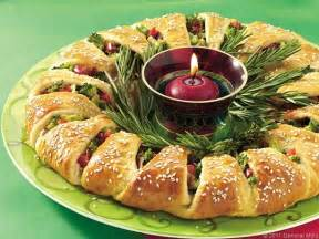 holiday appetizer wreath recipegreat com