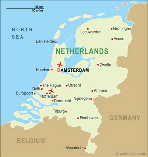 netherlands map images harvey world travel the travel professionals