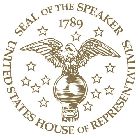 speaker of the house of representatives file seal of the speaker of the us house of representatives svg