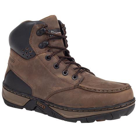 rocky 174 forge waterproof wedge boots darkwood 578328