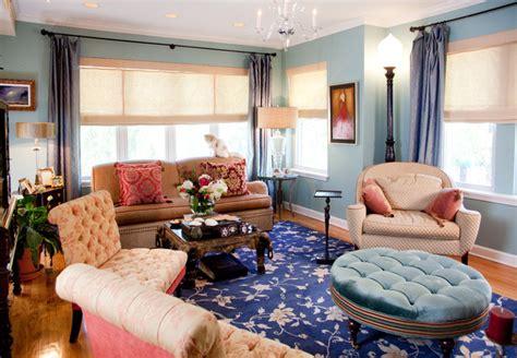 bohemian condo eclectic living room chicago