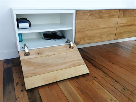 Built In Kitchen Desk ikea hackers besta gets floored ikea hacks pinterest