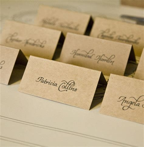 unique place cards personalized place cards wedding supplies ebay party
