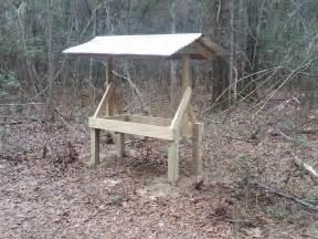 Hay Bale Hunting Blind Homemade Deer Feeder Georgia Outdoor News Forum