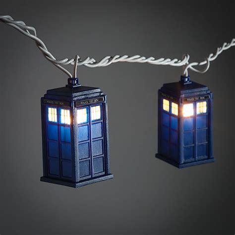 Tardis String Lights Doctor Who Tardis String Lights