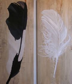 steen studio: feathers + a fresh bedroom
