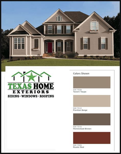 paint colors options combinations home exteriors