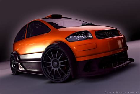 Audi A2 tuning Photo Gallery #6/9