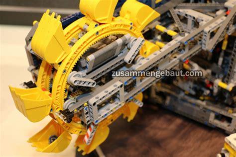 sommer  lego technic porsche  gt volvo ew traktor und bucket wheel extractor