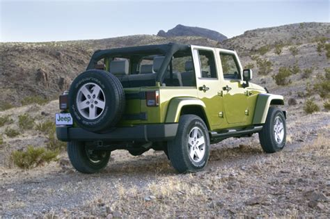 3 Row Jeep Wrangler The All New 2007 Jeep Wrangler Unlimited Press Release
