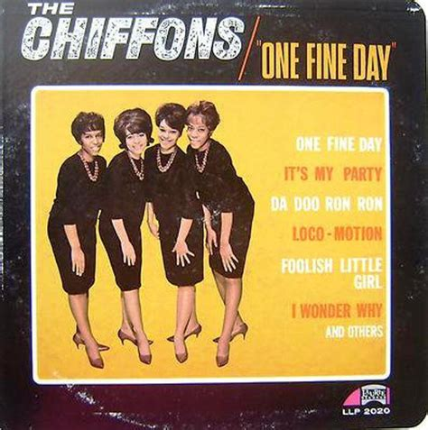 libro one fine day the the chiffons one fine day vinyl lp album at discogs