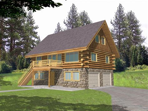 Cabin Plans With Garage by Small Log Cabin Floor Plans Log Cabin Home Floor Plans