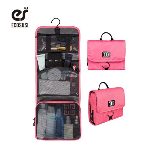 New Travel Toiletries Bag Tas Traveling ecosusi new travel pouch waterproof portable toiletry bag cosmetic organizer pouch hanging