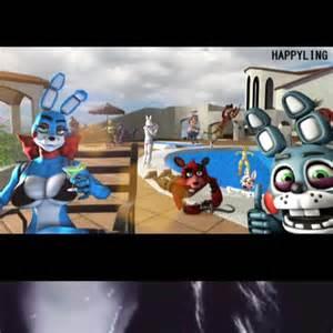 "watch ☀️bonnie the bunny fnaf☀️'s vine ""fnaf pool party"