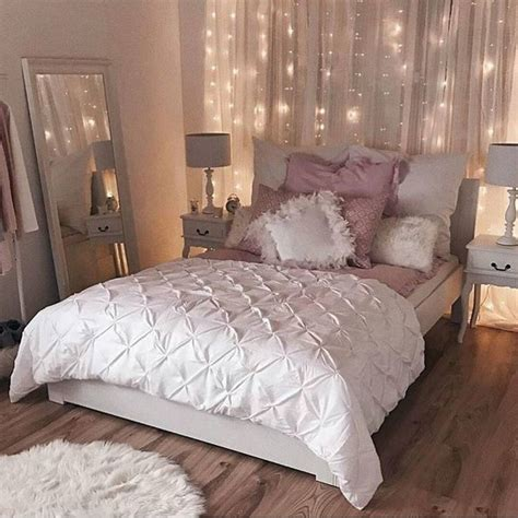 pale pink bedroom best 25 string lights bedroom ideas on pinterest