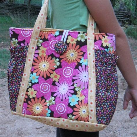 tote bag pdf pattern free original satchel tote bag pdf sewing pattern instant