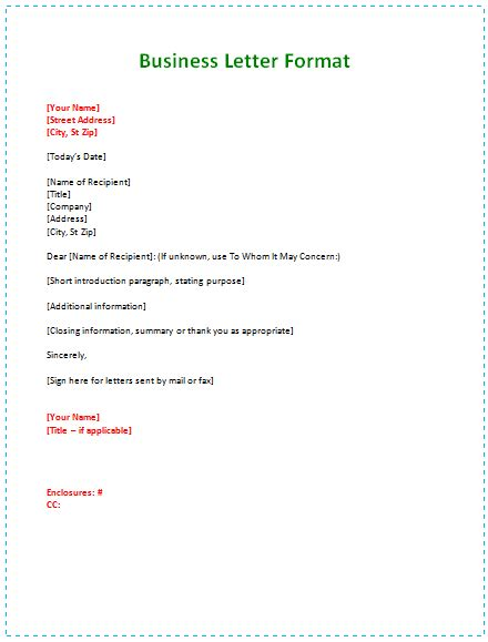 how to write a business letter the best letter sle