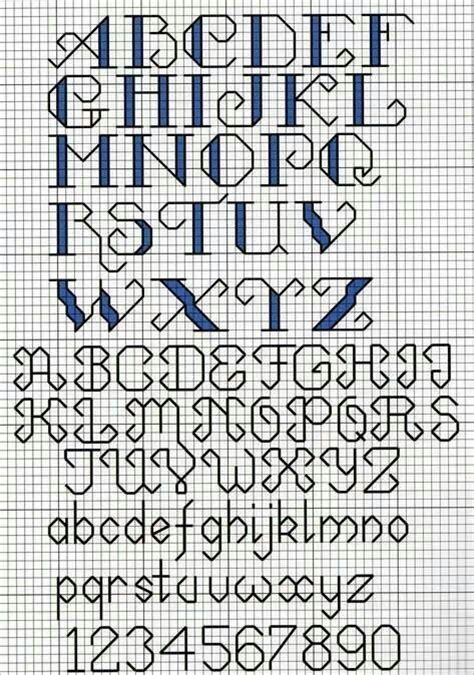 cross stitch alphabet sler pattern crafty like a fox pinterest