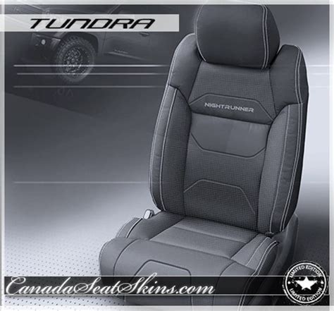 2014 2018 toyota tundra nightrunner leather upholstery