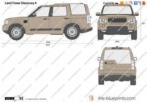 the blueprints vector drawing land rover discovery 4