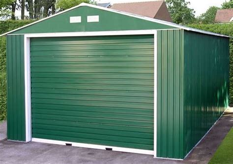 12 X 20 Metal Shed by 12 X 20 Storemore Emerald Olympian Apex Metal Garage