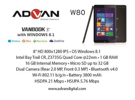 Advan Microsoft advan tantang pasar gadget indonesia dengan tablet windows 8 1 dengan pengalaman xbox