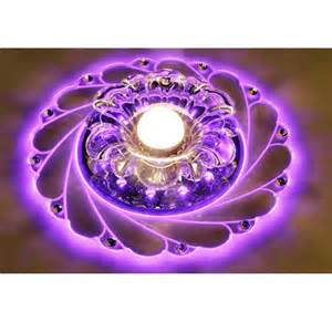 Purple Ceiling Light Durable Acrylic Led Ceiling Purple Blue Light L Lighting Chandelier Ebay