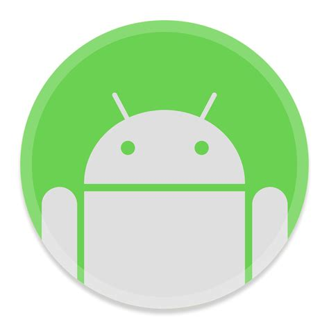 android buttons android filetransfer 2 icon button ui app pack one iconset blackvariant