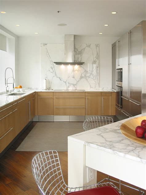 kitchen slab white marble backsplash kitchen contemporary with black