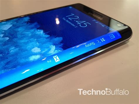 Samsung Note Edge galaxy note edge on with samsung s new smartphone