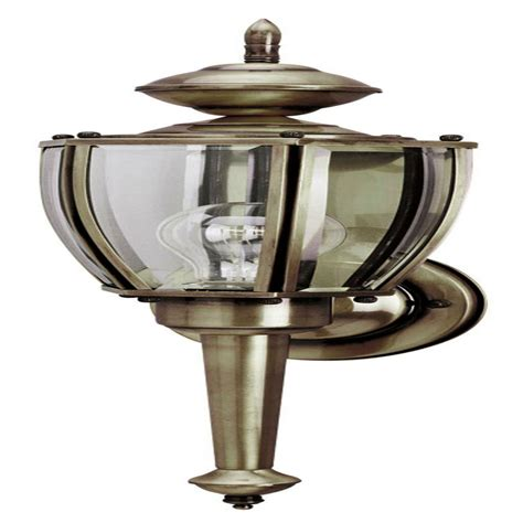Solid Brass Light Fixtures Westinghouse 66923 1 Light Antique Solid Brass Light Fixture Elightbulbs