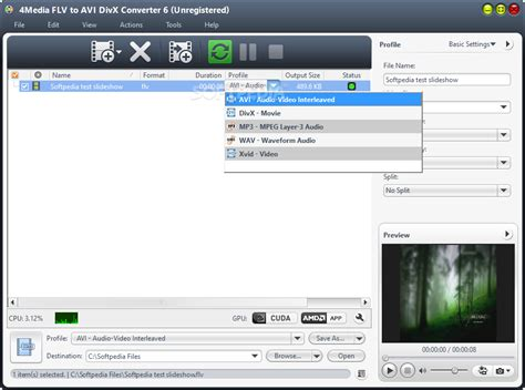 format file divx 4media flv to avi divx converter download