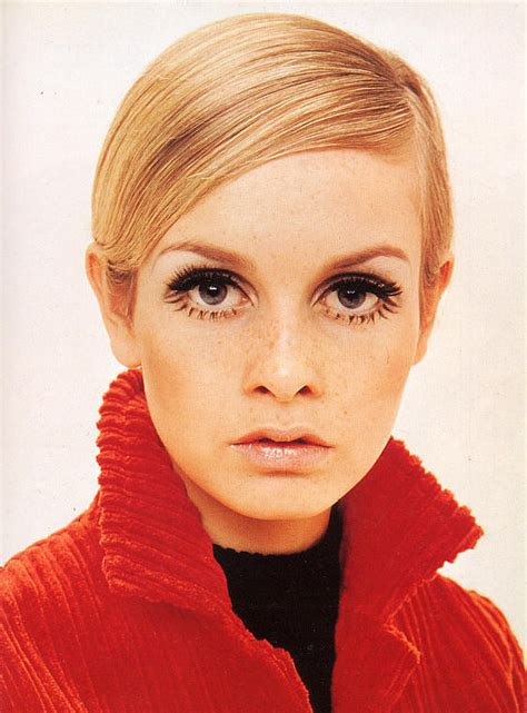 Twiggy Hairstyles by Twiggy Hair Icon Mod Hairstyles Zimbio
