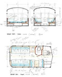 rv conversion floor plans 1959 chevrolet viking short bus converted into cer