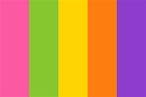 bold colors bright and bold color palette