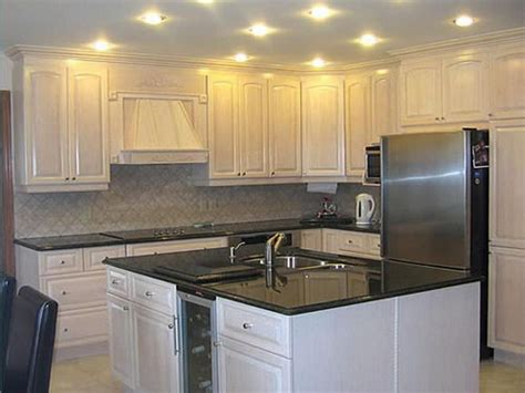 White Stained Kitchen Cabinets by Popular White Oak Kitchen Cabinets My Home Design Journey