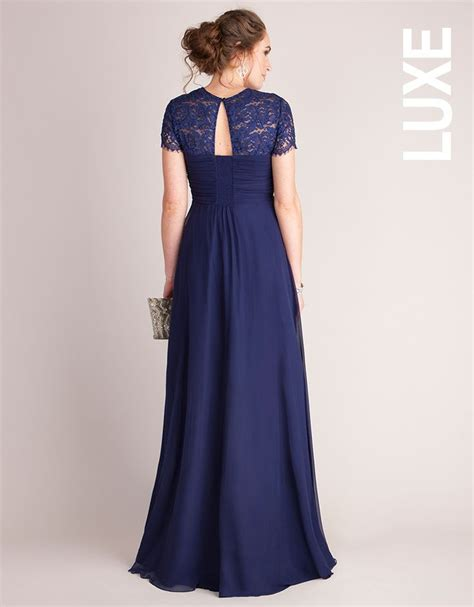 Tie Waist Panel Lace Evening Gown best 25 maternity evening dresses ideas on