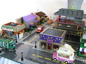You only get the simpsons house in the official set so matt de lanoy